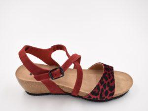 Sandalia-Bio-Señora-Sunny-Leopardo-Burdeos