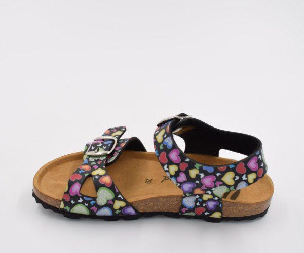 Sandalia-Bio-Niña-Colors-Corazones