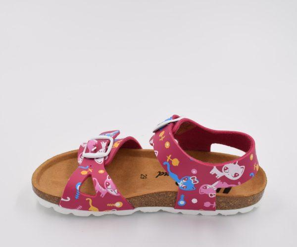 Sandalia-Bio-Niña-Colors-Gatos