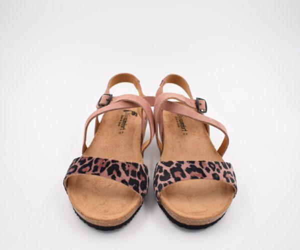 Sandalia-Bio-Señora-Sunny-Leopardo-Rosa