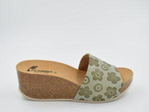sandalia-bio-señora-rohe-verde-flores